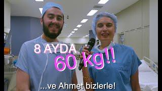 Tüp mide ameliyatı olup 60 kilo veren Ahmet'i eski arkadaşları görünce gözlerine inanamadılar...