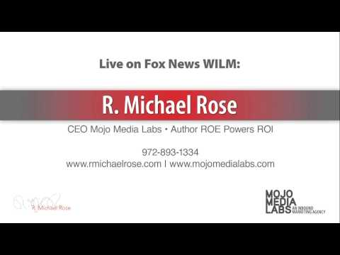 R. Michael Rose on the radio in Delaware - 4/16/14