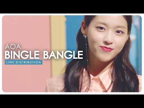AOA • Bingle Bangle | Line Distribution