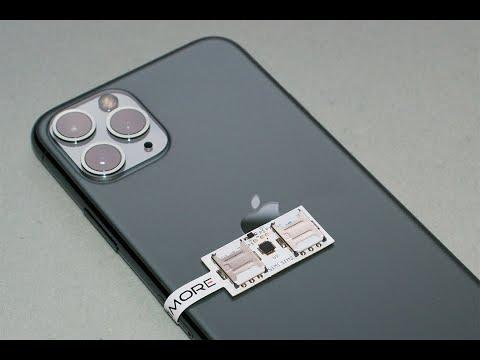 Dual SIM For IPhone 11 Pro -  2 SIM Adapter SIMore Speed Xi-Twin 11 Pro