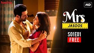 Mrs. Jasoos (श्रीमती जासूस) S01 E01 | Free Episode | Web Series | Rohit Roy, Aparajita | Hoichoi