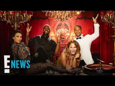 Kim Kardashian, Kanye & More Attend John Legend's Birthday Party | E! News