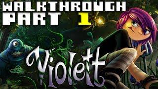 Violett -- Walkthrough Part 1 - Start room, teapot and caterpillar(1)