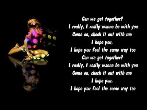 Madonna - Get Together Karaoke / Instrumental with lyrics on screen