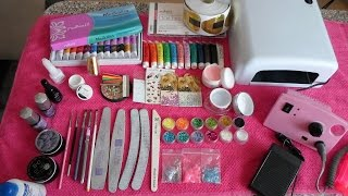 Необходимые материалы для наращивания ногтей