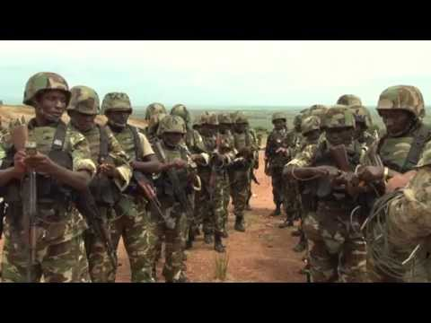 U.S. Marines Work With Burundi National Defense Force In Fighting Terrorism