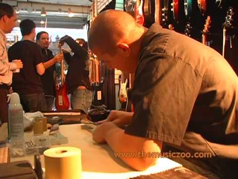 Fender Masterbuilder Dennis Galuszka Builds A Strat Live At The Music Zoo