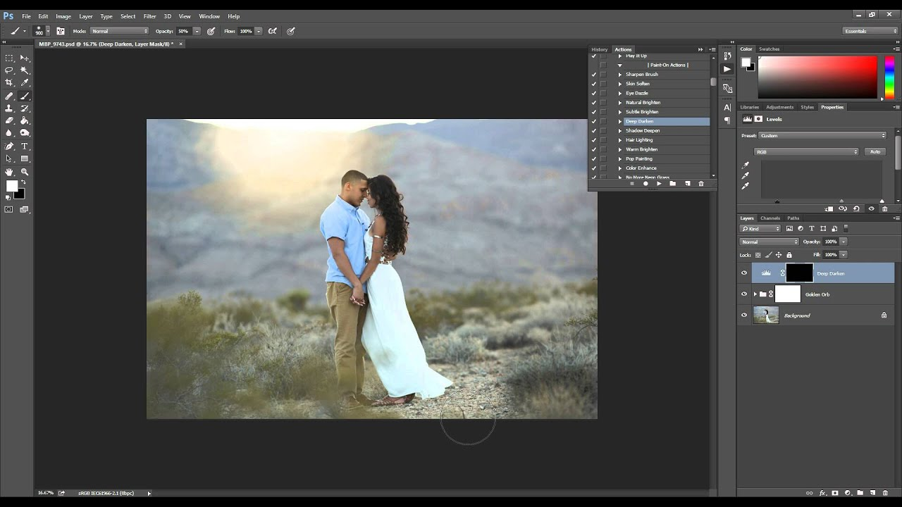 How To Use and Install Photoshop Actions