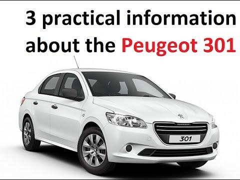 Pratik Bilgiler Peugeot 301