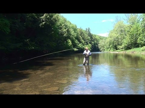 Pine Creek Fly Fishing Pennsylvania 2014
