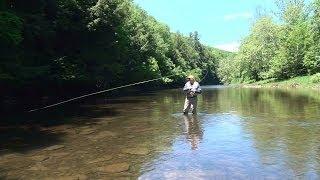 Pine Creek Fly Fishing Pennsylvania 2014