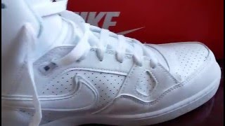 release date 0bb73 21061 Nike Son Of Force White Mid Review and ON FEET