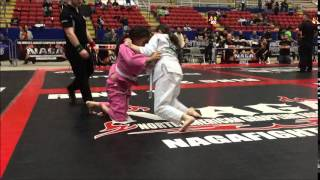 Katie Nason 1st matchBrazilian Jiu Jitsu Georgetown - Martial Arts and Self Defense
