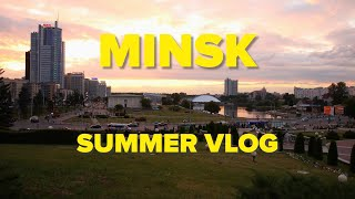 MINSK, BELARUS Summer Vlog | Are Belarusians the Canadians of Russia?