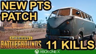 PUBG XBOX UPDATE / New PTS Patch Chicken Dinner