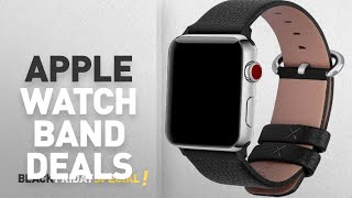 Black Friday Apple Watch Band Deals: 15 Colors for Apple Watch Bands, Fullmosa Yan Calf Leather