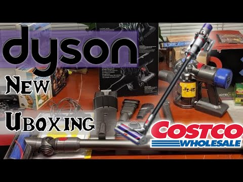 #costco #unboxing 1133310 #dyson V7 animal+ | cord free hand held vacuum 2019