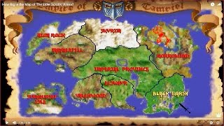 How Big is the Map of The Elder Scrolls: Arena?