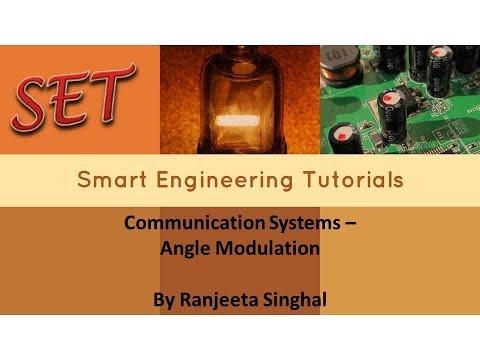 Communication Systems - Angle Modulation