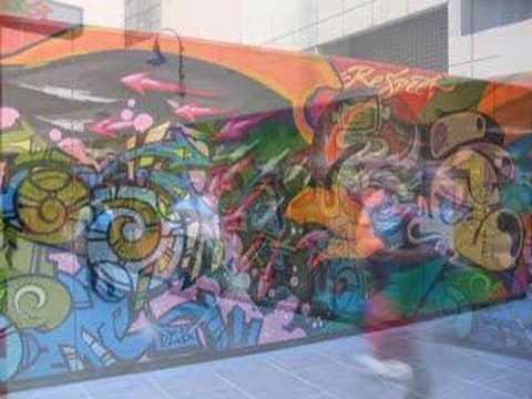 Graffiti Art Walls of Melbourne
