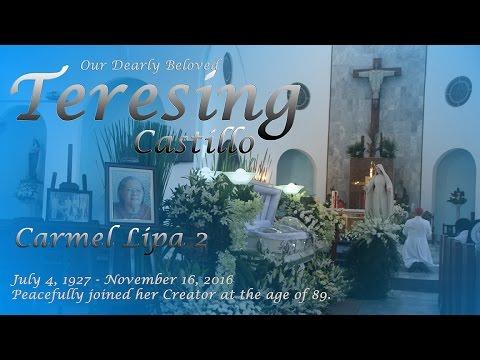 Carmel Lipa 2 - Sis Teresing Castillo Memorial