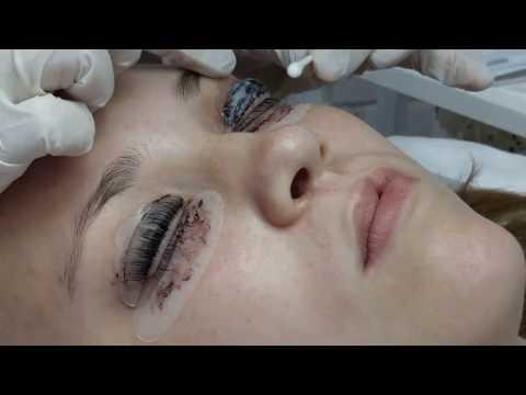 Прямой эфир. Ламинирование ресниц Lash Botox. Часть 3