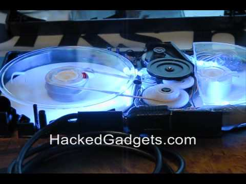 VHS Tape Storage Drive - more details on Hacked Gadgets