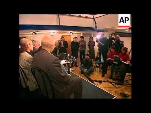 RUSSIA: MIKHAIL GORBACHEV SPEAKS
