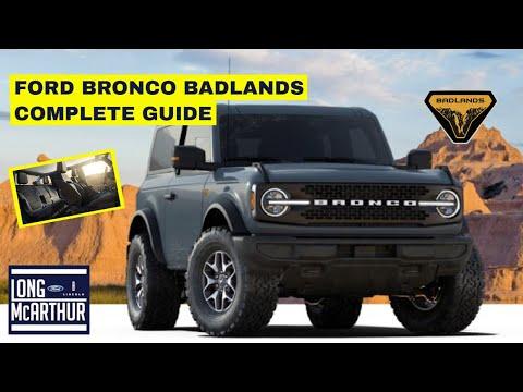 2021-ford-bronco-badlands-complete-guide