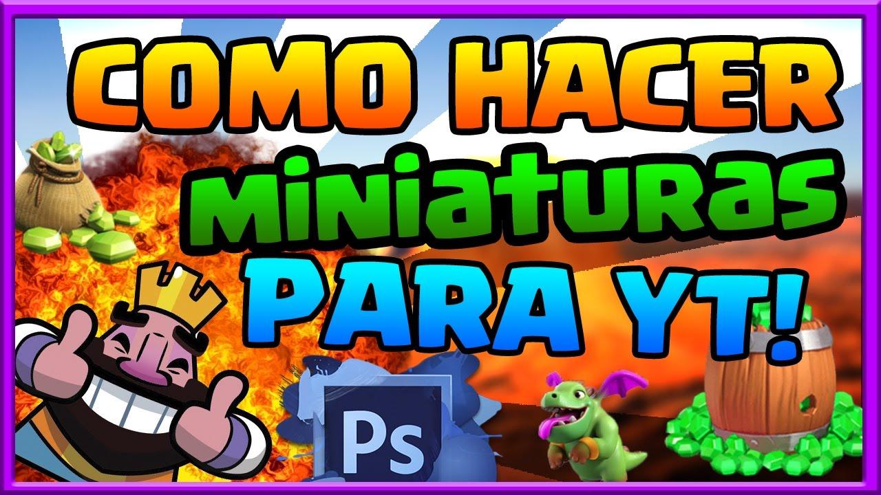 Como Hacer Miniaturas Para Youtube Con Photoshop 2019 Rapido Y Facil