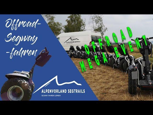 Segway Touren in den Bergen - Offroad Event und Segway fahren