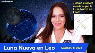 LUNA NUEVA en LEO Agosto 8, 2021 y Cómo Afectará a Cada Signo
