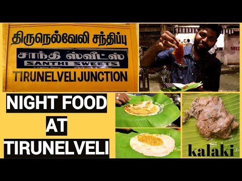 Night Food At Tirunelveli | Tamil Foodie | Trip To South EPI-5