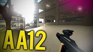 THE AA12 SNIPER on PHANTOM FORCES... (roblox)