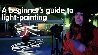 How to paint with ice-skates | A Beginner's Guide to Light-painting | We The Curious