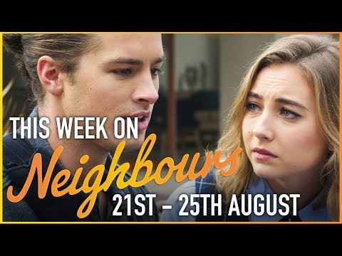 This Week On Neighbours (21st - 25th of August)