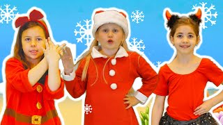 Christmas Baby Shark Song | Dance Kids Songs | Santa Shark Version 2020