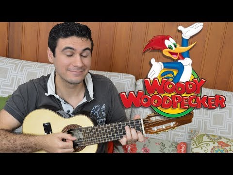 Woody Woodpecker Theme - Mini Guitar (Marcos Kaiser)