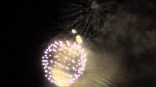 Accident de feu d'artifice sur la plage d'Olmeto (Corse) Août 2013