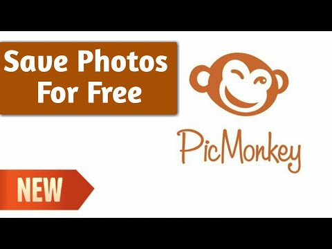 How To Save/export Photos For Free In Picmonkey