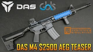 $2500 GBLS DAS M4A1 AIRSOFT GUN OVERVIEW TEASER LOOK | SPARTAN117GW