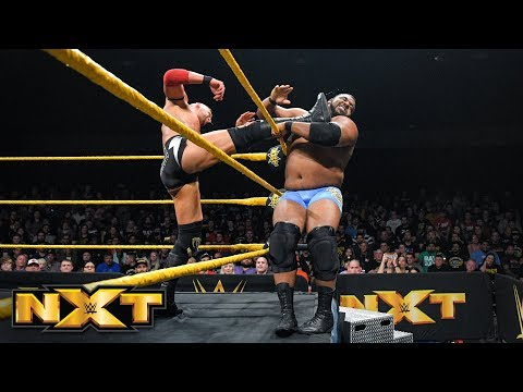 Keith Lee vs. Dominik Dijakovic: WWE NXT, Feb. 27, 2019