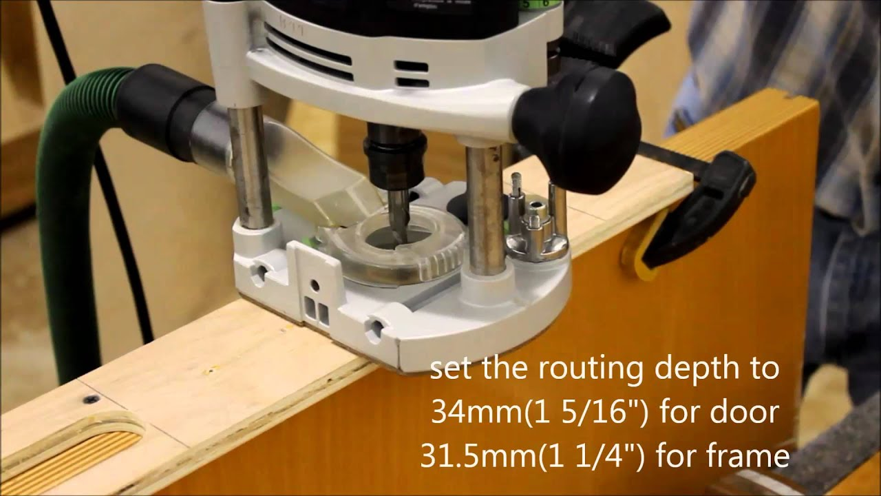 Routing for concealed 3D adjustable Tectus® hinge - YouTube