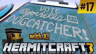 Hermitcraft 7: Interviewed by a bee! Vote JoeHills for Dogcatcher! (feat. @xisumavoid)