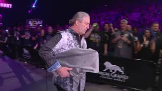 Bret Hart makes appearance at AEW: Double or Nothing