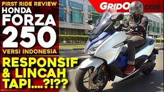 Honda Forza 250 l First Ride l GridOto