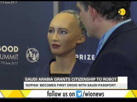 Meet Sophia, world's first robot with a citizenship