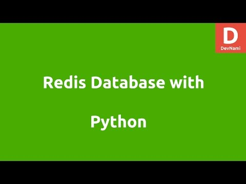 Redis Database and Python