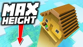 7 Tallest Houses so Players Can't Reach the TOP in Minecraft!
