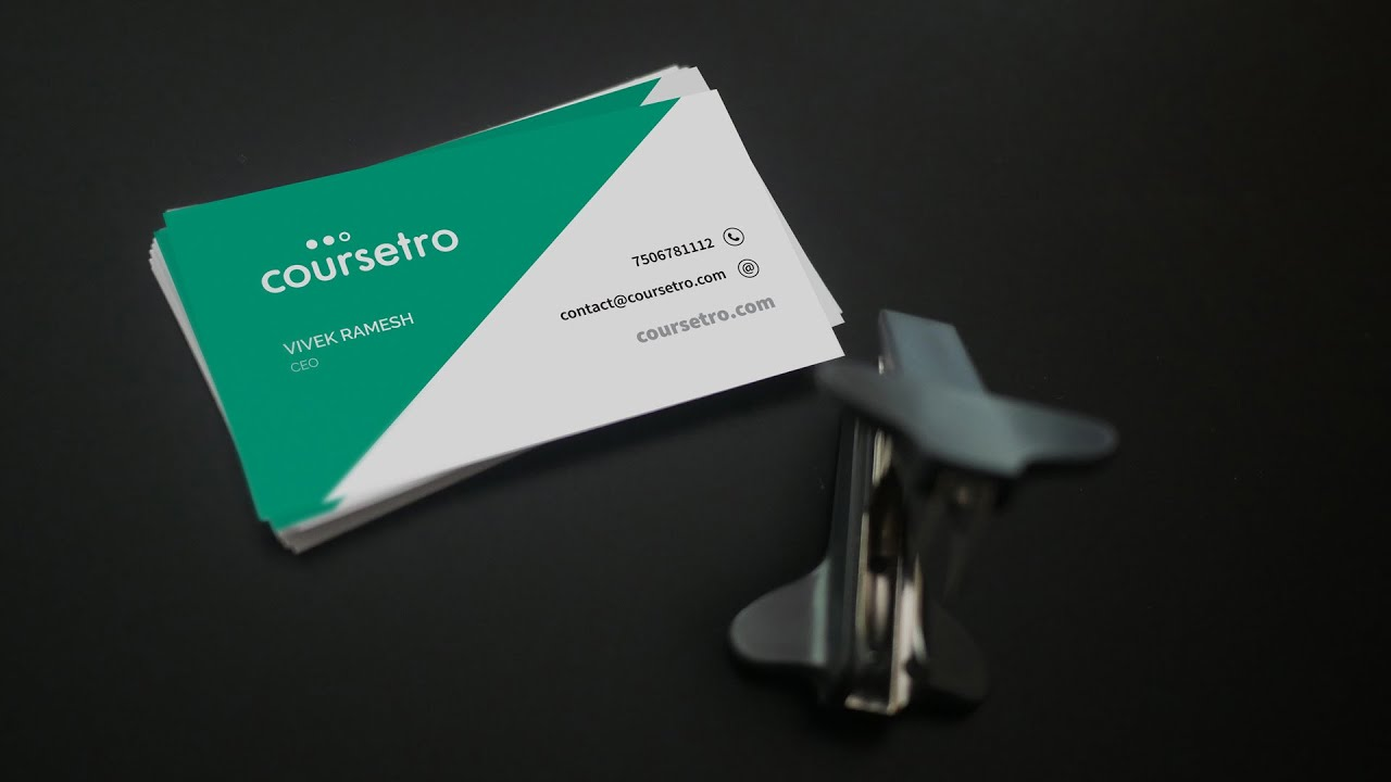 How To Make A Business Card Template In Photoshop